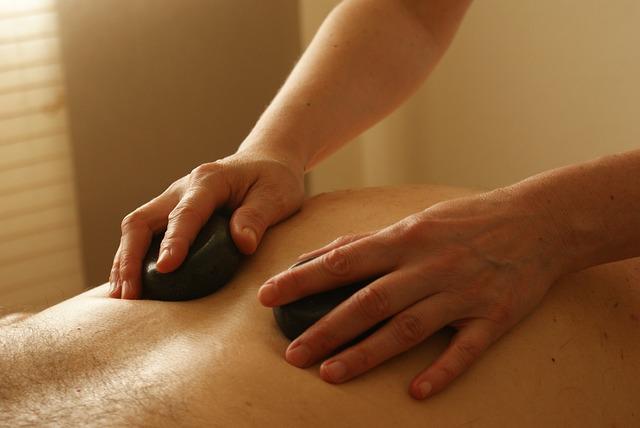 relaxační masáž kameny