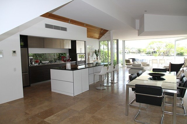 luxusní kuchyně