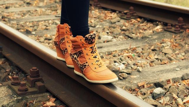 oranžové boty
