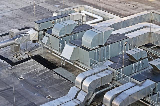 klimatizace na střeše