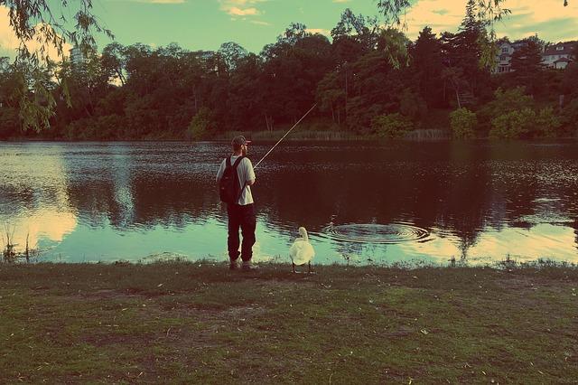 večerní rybaření