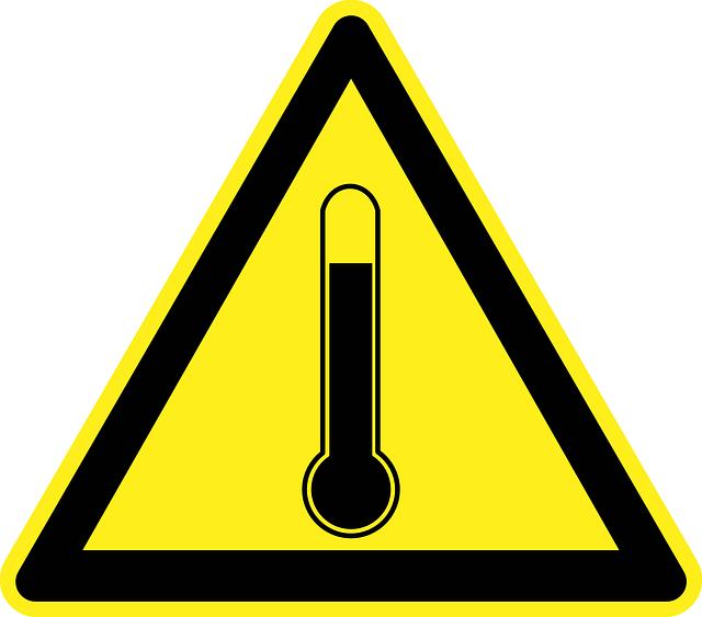 nebezpečná teplota