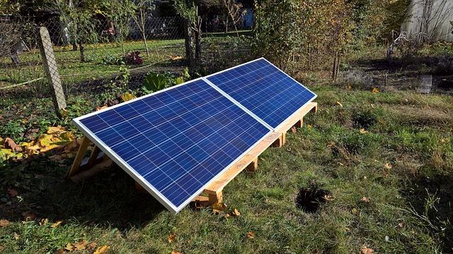 solární modul