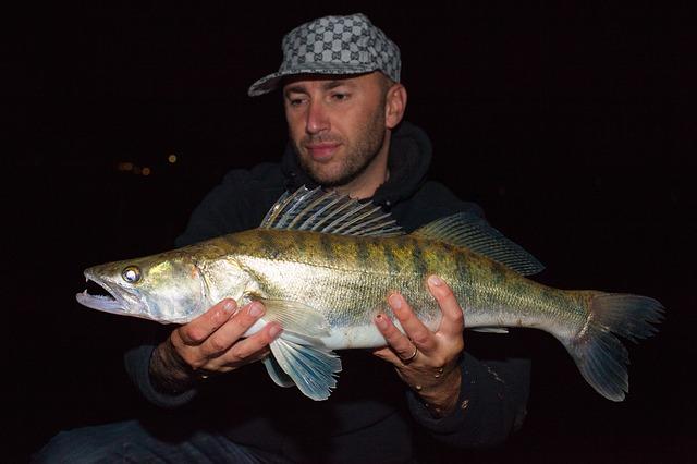 úspěšný rybář