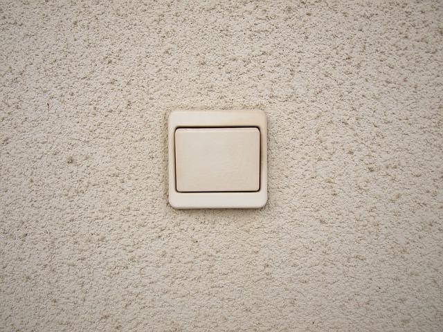 světlý vypínač