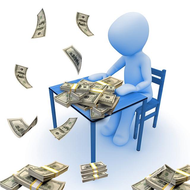 počítání penězu