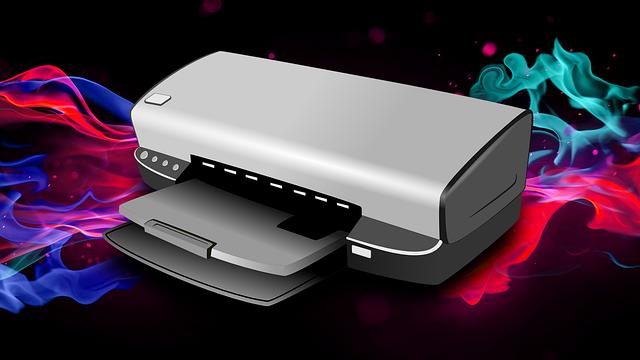 tiskárna s barevným kouřem