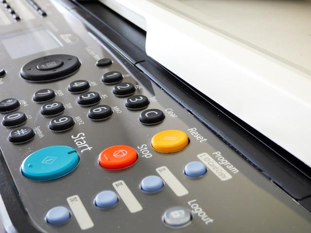 tlačítka tiskárny