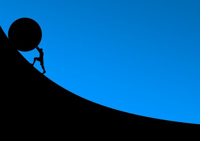 chůze do kopce